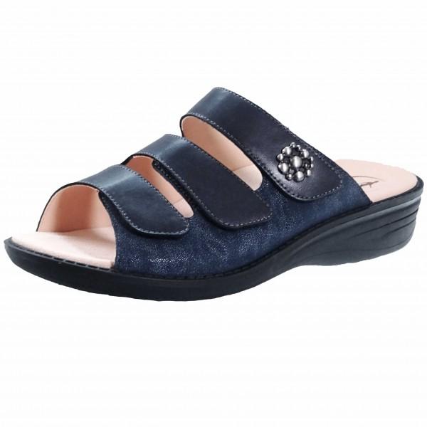 Bild 1 - Ganter Blaue Damenpantolette 2058003100 Hera
