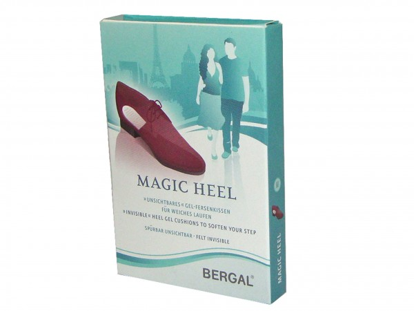 Bild 1 - Bergal Unsichtbare Gel Fersenkissen 8686202 Magic Heel