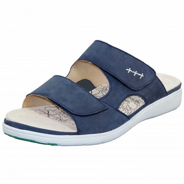 Bild 1 - Ganter Blaue Damenpantolette 2001583500 Gina