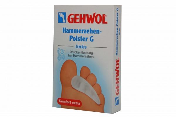Bild 1 - Gehwol Hammerzehen Polster links 1026916 Hammerzehenpolster