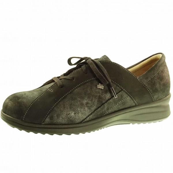 Bild 1 - Finn Comfort Damen Fußbett Schnürschuh Mineola 02238901901 Damen Ladyline