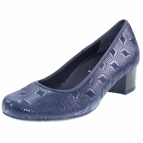 Bild 1 - Semler Damen Fußbett Pumps C4200087080 Cleo