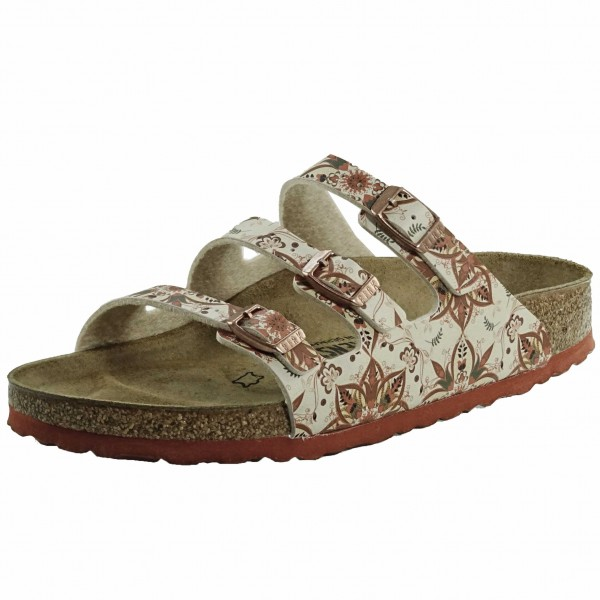 Bild 1 - Birkenstock Flower Earth Damenpantolette 1015995 Florida
