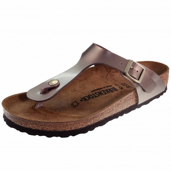 Bild 1 - Birkenstock Damen Fußbett Pantolette 1012983 Gizeh
