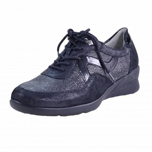 Bild 1 - Waldläufer Damen Fußbett Schnürschuh 912002401001 Hirokas