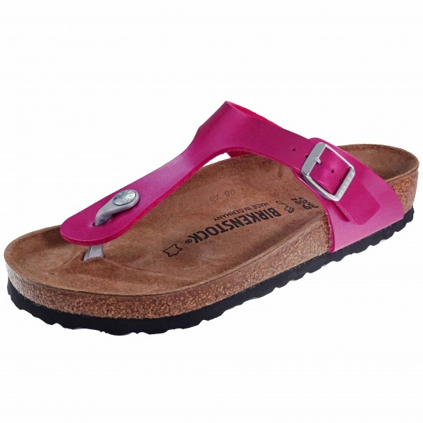 Bild 1 - Birkenstock Damen Fußbett  Pantolette 1012979 Gizeh