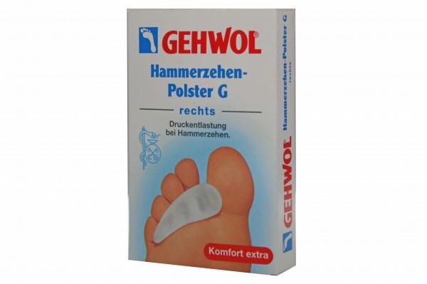 Bild 1 - Gehwol Hammerzehen Polster rechts 1026915 Hammerzehenpolster