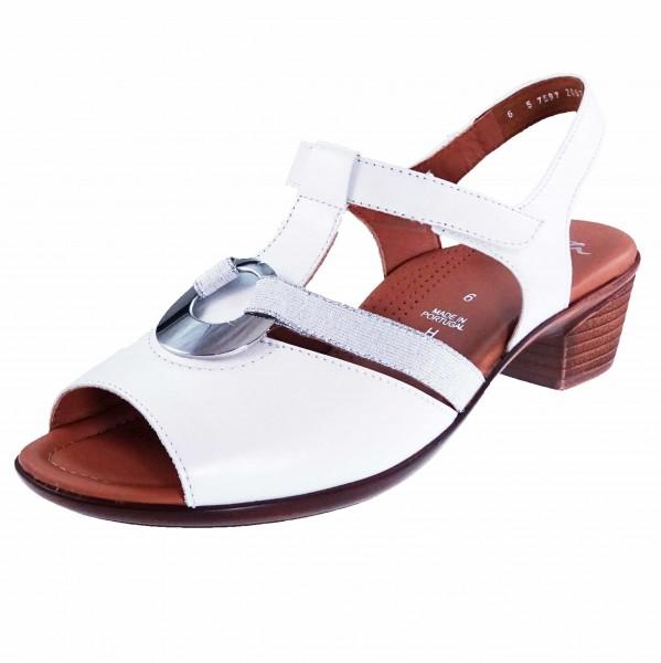 Bild 1 - Ara Damen Fußbett Sandale 12-35715-12 LUGANO