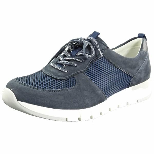 Bild 1 - Waldläufer Blau/weißer Damenschuh 908003308217 Petra