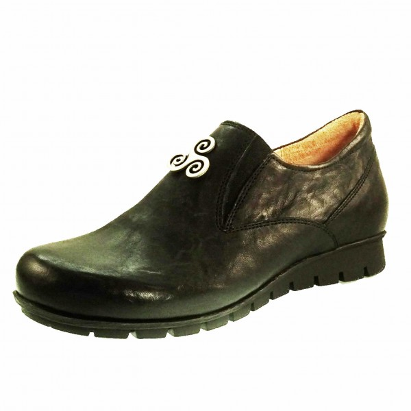 Bild 1 - Think Damen Fußbett Slipper 38307900 MENSCHA 10